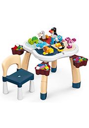 Мультифункциональный столик для творчества, с конструктором /332617/