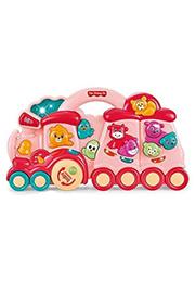 Музыкальная игрушка Baby Animal Train /626730/