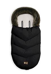 Sac de iarna pentru carucior Glamvers Luxury Black /00222/