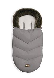 Утеплённый конверт в коляску Glamvers Luxury Grey /00239/