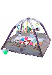 Игровой коврик +18 шариков, Grey Forest /012338/