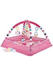 Игровой коврик +18 шариков, Pink Birds /012345/