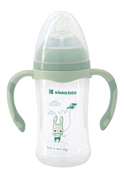 Biberon anticolic, 260 ml, Rabbit Mint /020614/