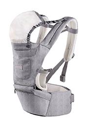 Кенгуру-сиденье 3-в-1 Glamvers Together Grey /010246/