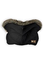 Mufă pentru carucior, Glamvers Luxury Black /40786/