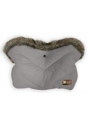Mufă pentru carucior, Glamvers Luxury Grey /40793/