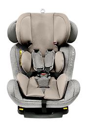 Scaun auto 0-36 kg Glamvers 4 Safe Isofix Light Grey /70483/