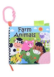 Мягкая книжка для малышей Farm Animals /10191310002/