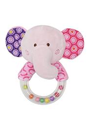 Jucarie de plus zornaitoare cu inel,, Elephant /10191330005/