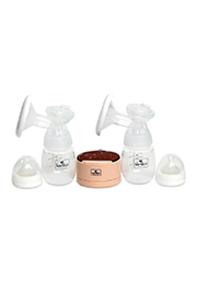 Молокоотсос электрический, двойной Lorelli DAILY COMFORT Pink /10220590001/