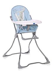 Стульчик для кормления Lorelli MARCEL Tender Blue Fun