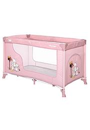 Кровать-манеж Lorelli MOONLIGHT 1 Beige Rose Rabbits
