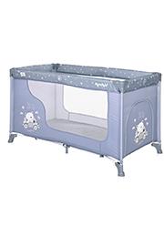 Кровать-манеж Lorelli MOONLIGHT 1 Silver Blue Car