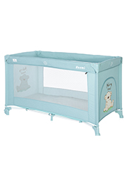 Кровать-манеж Lorelli NOEMI 1 Blue Surf Teddy