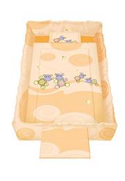 Набор постельного белья Lorelli TREND Hippo Orange /20800051204/
