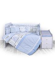 Набор постельного белья Lorelli TREND Friends Blue /20800052401/