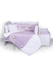 Набор постельного белья Lorelli TREND Bunnies Violet /20800053101/