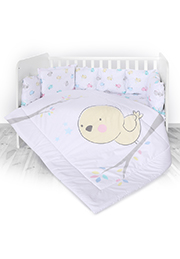 Набор постельного белья 7 эл., Lorelli LILI Ranforce Chicken /20800144201/