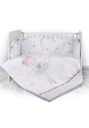 Набор постельного белья 7 эл., Lorelli LILI Balet Pink /20800143401/