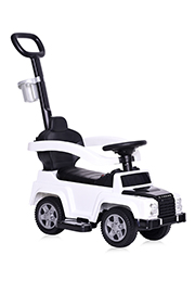 Tolocar cu maner parental Lorelli X-TREME, White /10400060002/