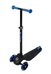 Самокат 3-х колёсный складной, возраст 3-8 лет, QPlay FUTURE Blue