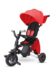 Трицикл складной QPlay NOVA PLUS Air Red
